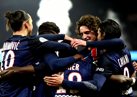 Unbeatable Paris Saint-Germain